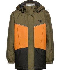 hmlconrad jacket parka-jas groen hummel