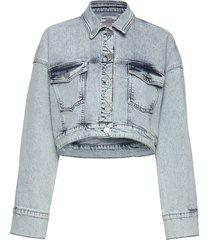 brandy jeansjack denimjack blauw baum und pferdgarten