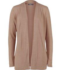 cardigan in jersey leggero (marrone) - bpc bonprix collection