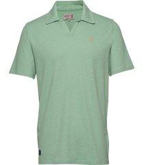 delon ss jersey shirt polos short-sleeved groen morris