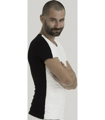 t-shirt half tyvek penguin men
