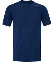 camiseta adidas fl tec z ft cco - masculina - azul escuro