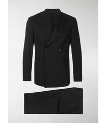 tonello double breasted stretch suit