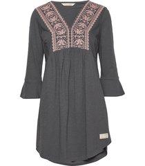 curious dress kort klänning grå odd molly