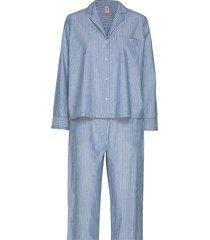 pyjamas giftset pyjama blauw becksöndergaard