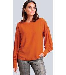 blouse alba moda oranje