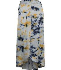 noelle lång kjol blå rabens sal r