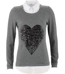 pullover (grigio) - bpc bonprix collection