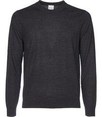 anthracite crewneck pullover