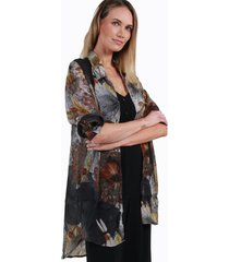 blusa estampada antonia gris night concept