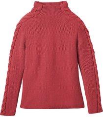 wollen pullover met mooi kabelbreisel, papaja 44