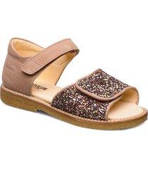 sandals - flat sandaler guld angulus