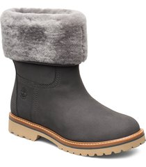 chamonix valley wp f/d shoes boots ankle boots ankle boots flat heel grå timberland