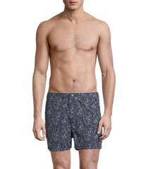 john varvatos men's malibu swim shorts - navy - size 36