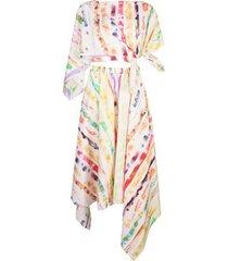 trangle dress multicolor