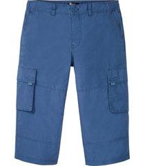pantaloni cargo a pinocchietto con taglio comfort regular fit (blu) - bpc bonprix collection