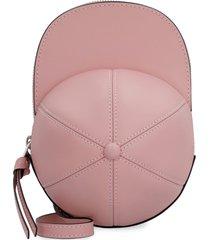 j.w. anderson cap leather crossbody bag