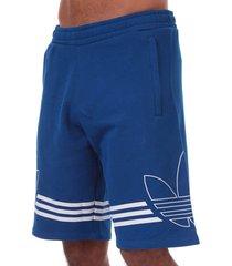 mens outline trefoil shorts
