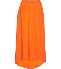 nonogarden knälång kjol orange american vintage