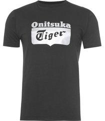 t-shirt masculina logo - preto
