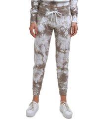 calvin klein performance women's tie dye jogger pants