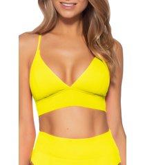 women's becca color code bralette bikini top