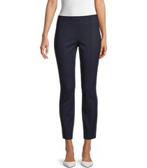 the row women's kosso cropped stretch virgin-wool pants - dark navy - size 6