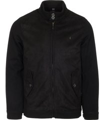 gabicci black blake harrington jacket v39gj18-blk