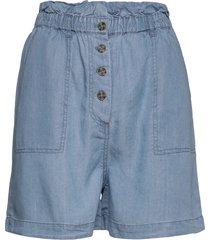 slkesia shorts shorts flowy shorts/casual shorts blå soaked in luxury