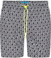 pantaloneta estampada para hombre 08430