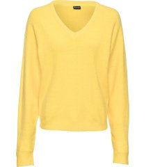 maglione oversize (giallo) - bodyflirt