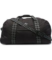 10 corso como holdall-style logo-strap suitcase - black