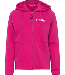 hooded jacket fanny fanny hooded jacket hoodie rosa björn borg