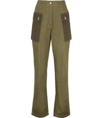 loewe cotton cargo-trousers