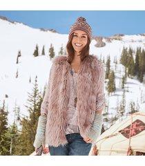 arctic blush vest