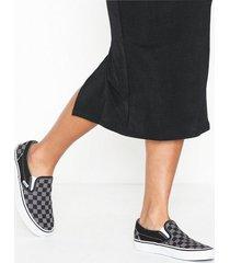 vans ua classic slip-on slip-on black/pewter