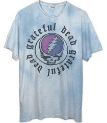 junk food women's grateful dead tie-dyed crewneck t-shirt