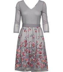 dresses knitted jurk knielengte grijs esprit collection