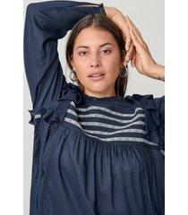 blus yalenora l/s blouse