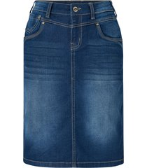 jeanskjol kammacr denim skirt