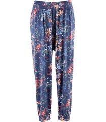 pantaloni alla turca con cinta comoda (blu) - bpc bonprix collection