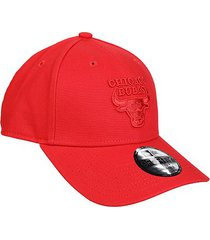 boné new era nba chicago bulls essentials color on aba curva