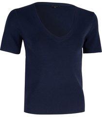 cavallaro t-shirt 6401007 livigna v top blauw
