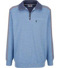 sweatshirt roger kent lichtblauw