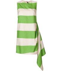 calvin klein 205w39nyc day designer dress - green