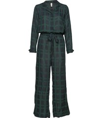 terry jumpsuit pyjamas grön underprotection