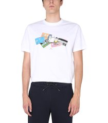 ps by paul smith credit cards t-shirt