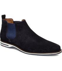 drake shoes chelsea boots blå lloyd