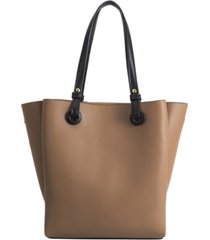 melie bianco devyn large vegan leather tote