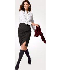 kjol relaxed by toni grå::antracitgrå